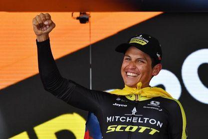 """Esteban Chaves: """"El recorrido de La Vuelta es bueno para ciclistas como yo"""""""