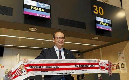 Pese a caer en Praga, el Sevilla sigue en el ¡top 10' del Ranking UEFA.