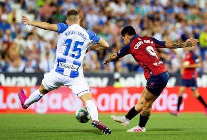 0-1. Chimy Ávila alumbra a Osasuna y anula la insistencia del Leganés