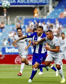 1-0. Joselu y Pacheco marcan la diferencia