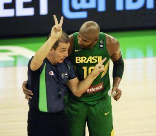 Leandrinho y Anderson entre los 12 de Brasil para el Mundial de China