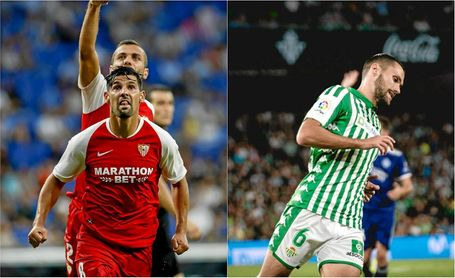 Se 'hidrata' el Sevilla; se queda 'seco' el Betis.