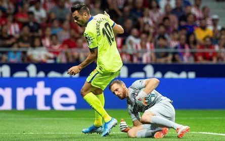 Ángel o Enric Gallego, la duda de Bordalás frente al Athletic
