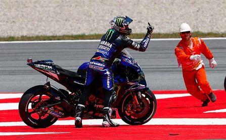 Viñales recuerda con cariño su primera victoria de MotoGP en Silverstone