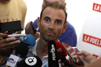 """Alejandro Valverde: """"En esta Vuelta se va a saber muy pronto si estás bien"""""""