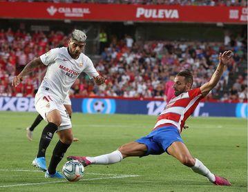 0-1: Joan Jordan decide a favor del Sevilla un intenso duelo andaluz