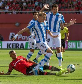 0-1. Odegaard rompe el maleficio de la Real en Son Moix 16 años después