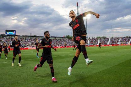 0-1. Vitolo pone fin al bloqueo del Atlético en Butarque