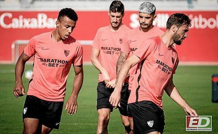 Franco Vázquez ha perdido peso en el Sevilla desde la llegada de Lopetegui.