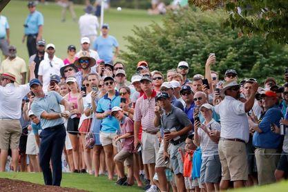 Suspenden la tercera jornada del PGA Tour Championship por mal tiempo