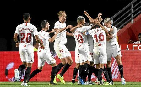 El Sevilla, con su seis de seis, es líder de Primera.