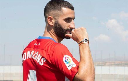 "Gonalons destaca ""el espíritu de familia"" que transmite el Granada"