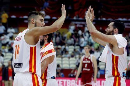 90-78. España, a semifinales por la puerta grande tras 13 años de espera