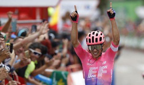 El colombiano Sergio Higuita gana en la Sierra de Madrid, Roglic sigue líder