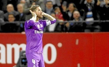 Sergio Ramos, un trago que se podría 'ahorrar'