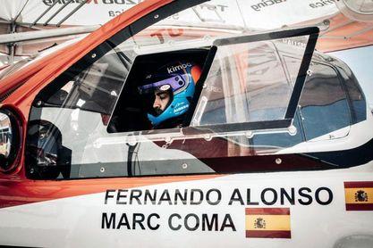 Alonso, tras competir en Sudáfrica, prosigue su preparación en Catar