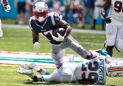 0-43. Antonio Brown brilla en su debut con los Patriots