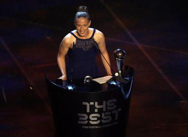 "Sari Van Veenendaal, premio ""The Best"" a la mejor guardameta"