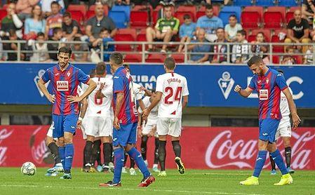 El Sevilla FC tenía el partido en Ipurua muy de cara.