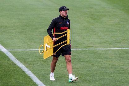 El Atlético vuelve a los entrenamientos sin Vitolo y Diego Costa