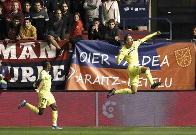 2-1. Osasuna logra la primera victoria en El Sadar