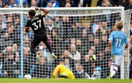 Traore frustra a Guardiola