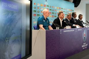 Cancelados dos partidos del Mundial de rugby en Japón por un violento tifón