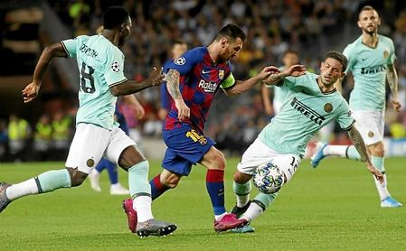 """Imanol cree que Messi """"no encajaría en la Real Sociedad"""""""
