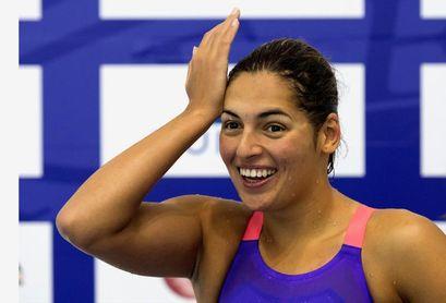 Michelle Alonso logra un nuevo bronce y queda a una centésima de su récord