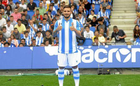 Portu, futbolista de la Real Sociedad.