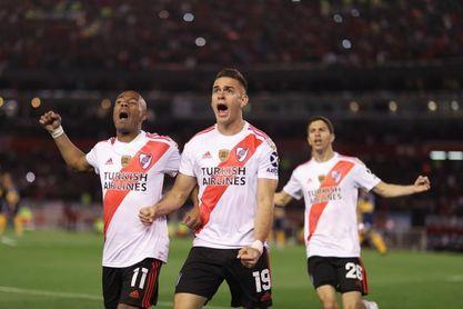 Estudiantes de Buenos Aires vence a Colón y se cita con River Plate en semifinales