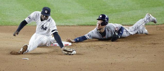 3-1. Los Astros se exhiben ante los Yanquis y ya piensan en la Serie Mundial