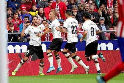 Atlético 1-1 Valencia: Parejo dispara las dudas del Atlético.