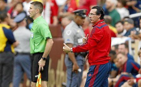Emery acumula ya 70 encuentros como técnico del Arsenal FC.