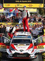 El estonio Tänak, nuevo campeón del mundo