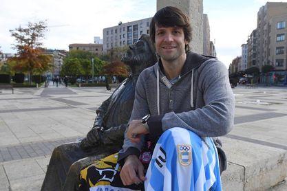 """Gonzalo Carou, el """"Gladiador"""" argentino que ya es leyenda de la Liga ASOBAL"""