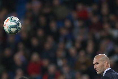 """Zidane: """"Vi mano pero es interpretación del árbitro"""""""