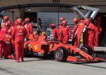 """Leclerc: """"No respondieron los neumáticos y no tuvimos suerte con Vettel"""""""