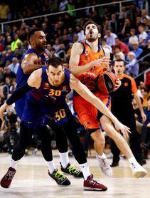 El Barça pierde a Claver entre cuatro y seis semanas