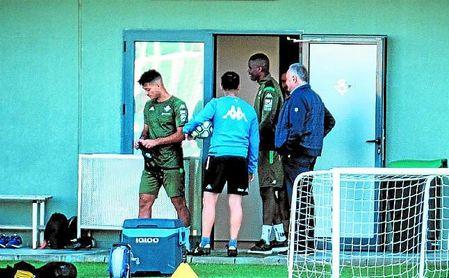 William Carvalho fue captado por las cámaras de ESTADIO en la sesión matinal en la ciudad deportiva.