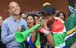 Baño de masas en Sudáfrica para los Springboks, héroes del Mundial de Rugby