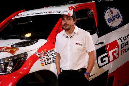 Fernando Alonso, cuarto en la segunda etapa del Rally Ula Neom