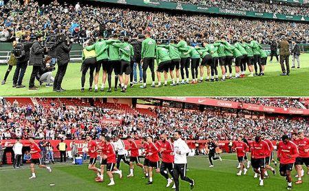 Betis y Sevilla abrirán sus entrenamientos al público este sábado.