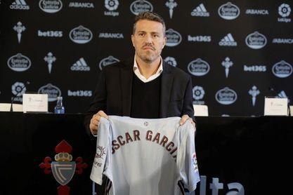 Óscar García, aventajado de Cruyff, en el Camp Nou para impartir doctrina