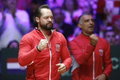 Destituido el capitán de Copa Davis croata a nueve días de la fase final