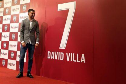David Villa anuncia su retirada del fútbol profesional a finales de año