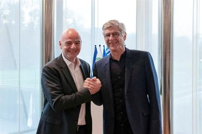 La FIFA anuncia el fichaje de Wenger como director de Desarrollo Mundial