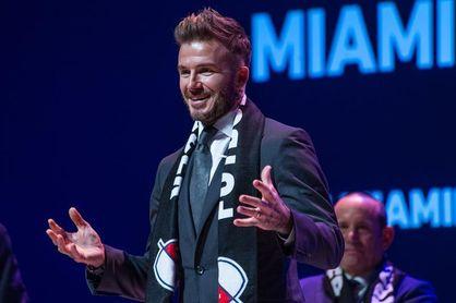 El partido inaugural del equipo de Beckham en Miami será en marzo de 2020