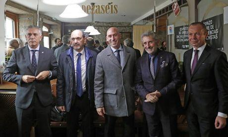 Empiezan los actos por el 110 aniversario de la FGF con presencia de Rubiales