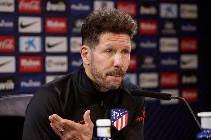 El Atlético se entrena aún sin Joao Félix y Giménez con el grupo